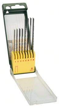 Кассета с пильными полотнами по дереву/металлу/пластмассе (Bosch U-хвостовик), 8 шт. [2607019459]