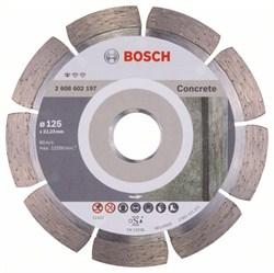 Алмазный отрезной круг Bosch Standard for Concrete 125 x 22,23 x 1,6 x 10 mm [2608602197]