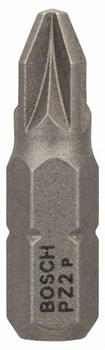 100 БИТ Bosch PZ2 25ММ ECO [2608521222]