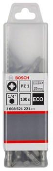 100 БИТ Bosch PZ3 25ММ ECO [2608521223]