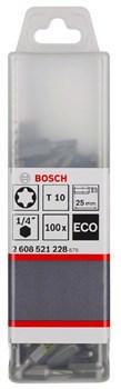 100 БИТ Bosch T25 25ММ ECO [2608521231]