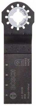 Погружное пильное полотно Bosch BIM AIZ 28 EB, Wood and Metal 50 x 28 mm [2608661644]