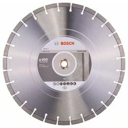 Алмазный отрезной круг Bosch Expert for Concrete 400 x 20,00+25,40 x 3,2 x 12 mm [2608602562]