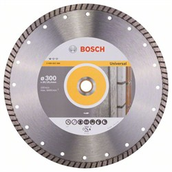 Алмазный отрезной круг Bosch Standard for Universal Turbo 300 x 20,00+25,40 x 3 x 10 mm [2608602586]