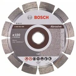 Алмазный отрезной круг Bosch Expert for Abrasive 150 x 22,23 x 2,4 x 12 mm [2608602608]