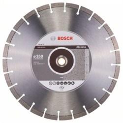 Алмазный отрезной круг Bosch Expert for Abrasive 350 x 20,00+25,40 x 3,2 x 12 mm [2608602612]