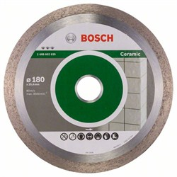 Алмазный отрезной круг Bosch Best for Ceramic 180 x 25,40 x 2,2 x 10 mm [2608602635]