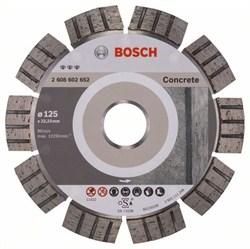 Алмазный отрезной круг Bosch Best for Concrete 125 x 22,23 x 2,2 x 12 mm [2608602652]