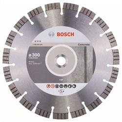 Алмазный отрезной круг Bosch Best for Concrete 300 x 22,23 x 2,8 x 15 mm [2608602656]