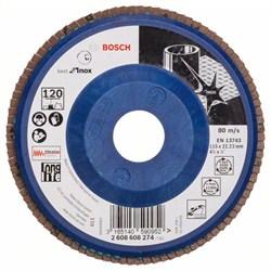 Лепестковый шлифкруг Bosch Best for Inox 115 мм, 22,23, 120 [2608608274]