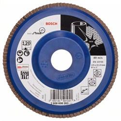 Лепестковый шлифкруг Bosch Best for Inox 125 мм, 22,23, 120 [2608608283]