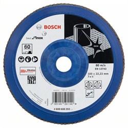 Лепестковый шлифкруг Bosch Best for Inox 180 мм, 22,23, 60 [2608608293]