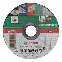 Отрезной круг, прямой, Bosch Multi Construction C 60 T BF [2609256306]