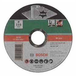 Отрезной круг, прямой, по нержавеющей стали Bosch WA 60 T BF [2609256320]