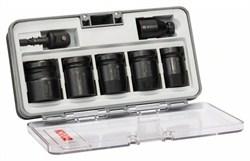 Набор из 7 торцовых ключей Bosch Impact Control SW13; SW17; SW19; SW21; SW24; 40 мм; 2 переходника [2608551029]