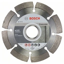 Алмазный отрезной круг Bosch Standard for Concrete 115 x 22,23 x 1,6 x 10 mm [2608603239]
