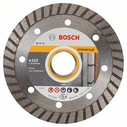 Алмазный отрезной круг Bosch Standard for Universal Turbo 115 x 22,23 x 2 x 10 mm [2608603249]