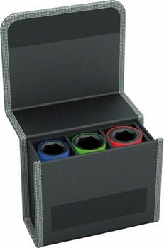 Bosch Набор головок для торцовых ключей 3 предм. 85 мм; 17, 19, 21 мм [2608551102]