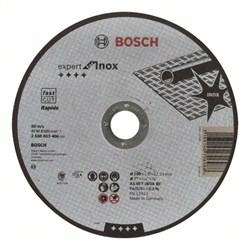 Отрезной круг, прямой, Bosch Expert for Inox - Rapido AS 46 T INOX BF, 180 mm, 1,6 mm [2608603406]