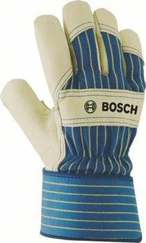 Защитные перчатки из воловьей кожи Bosch GL FL 10 EN 388 [2607990108]