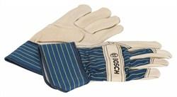 Защитные перчатки из воловьей кожи Bosch GL FL 10 EN 388 [2607990109]