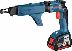 Аккумуляторный сетевой шуруповерт Bosch GSR 18 V-EC TE + MA 55 [06019C8000] - фото 48839