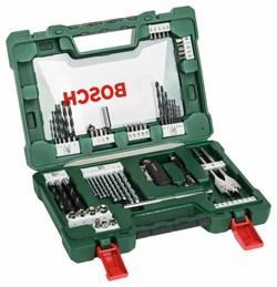 Набор сверл и насадок-бит Bosch V-Line со складным ножом, магнитным захватом и двусторонней отверткой из 68 шт. [2607017191]