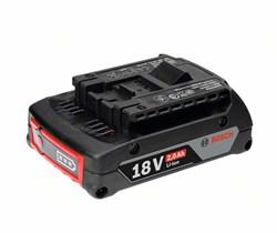 Аккумулятор Bosch GBA 18 В 2,0 А*ч M-B [1600Z00036]