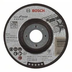 Обдирочный круг, выпуклый, Bosch Best for Inox A 30 V INOX BF, 115 mm, 7,0 mm [2608603510]