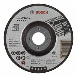 Обдирочный круг, выпуклый, Bosch Best for Inox A 30 V INOX BF, 125 mm, 7,0 mm [2608603511]