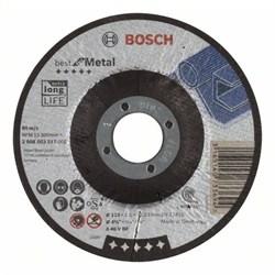 Отрезной круг, выпуклый, Bosch Best for Metal A 46 V BF, 115 mm, 1,5 mm [2608603517]