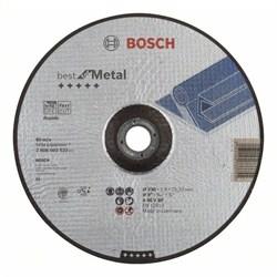 Отрезной круг, выпуклый, Bosch Best for Metal, Rapido A 46 V BF, 230 mm, 1,9 mm [2608603523]