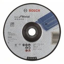 Отрезной круг, выпуклый, Bosch Best for Metal A 30 V BF, 180 mm, 2,5 mm [2608603529]