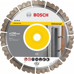 Алмазный отрезной круг Bosch Best for Universal 300 x 22,23 x 2,8 x 15 mm [2608603634]