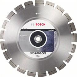Алмазный отрезной круг Bosch Best for Asphalt 300 x 25,40 x 3,2 x 12 mm [2608603640]