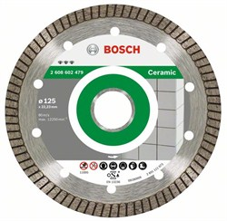 Алмазный отрезной круг Bosch Best for Ceramic Extra-Clean Turbo 230 x 22,23 x 1,8 x 7 mm [2608603597]