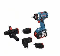 Аккумуляторная дрель-шуруповёрт Bosch GSR 18 V-EC FC2 [06019G7100]