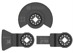 Bosch  Базовый комплект из 3 шт. по керамической плитке, для многофункциональных инструментов [2607017324]