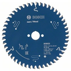 Пильный диск Bosch Expert for Wood 190 x 20 x 2,6 mm, 56 [2608644046]