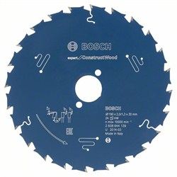 Пильный диск Bosch Expert for Construct Wood 165 x 20 x 2,0 mm, 24 [2608644137]