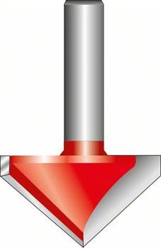 Bosch V-образная пазовая фреза 8 mm, D 31,8 mm, L 19 mm, G 51 mm, 90° [2608629370]