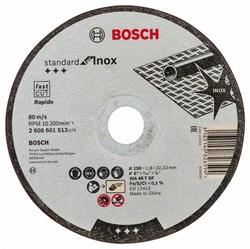Отрезной круг, прямой, Bosch Standard for Inox WA 46 T BF, 150 mm, 22,23 mm, 1,6 mm [2608601513]