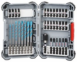Упаковка бит для шуруповерта Bosch Impact Control MultiConstruction, 35 шт.  [2608577147]