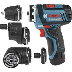 Аккумуляторная дрель-шуруповёрт Bosch GSR 12V-15FC [06019F6000]