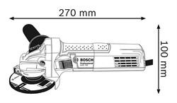 Угловые шлифмашины Bosch GWS 750-125 [0601394001] - фото 72707