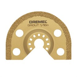 Круг для удаления остатка раствора DREMEL® Multi-Max [2615M501JA] - фото 27957