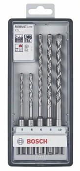 Набор из 5 ударных свёрл Bosch Robust Line X5L 5,5; 5,5; 5,5; 5,5; 5,5 mm [2607019930]