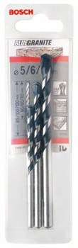 Bosch Набор из 3 свёрл по бетону Blue Granite 5; 6; 8 mm 2608597747