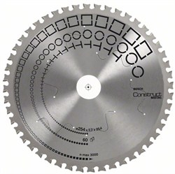 Bosch Пильный диск Construct Metal 235 x 25,4 x 2,2 mm, 48 2608641724