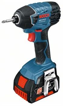 Аккумуляторный ударный гайковёрт Bosch GDR 18 V-LI [06019A1304]